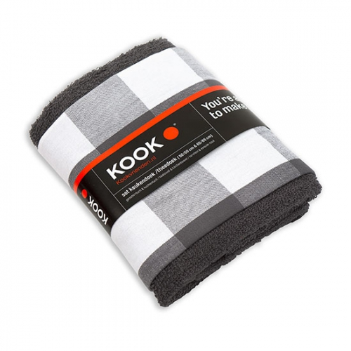KOOK Thee & Keukendoek set