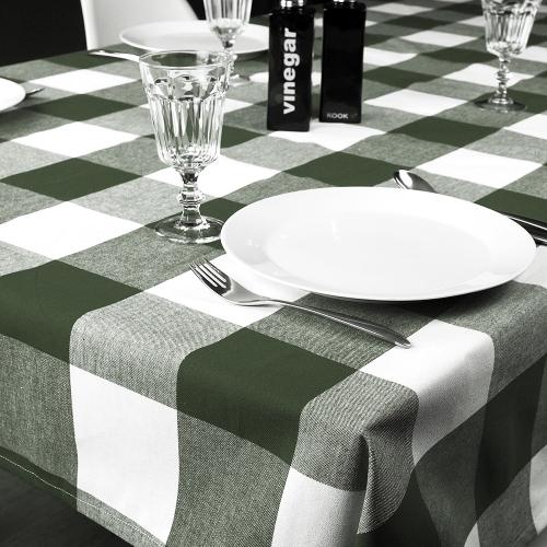 KOOK Tafelkleed Coated Ruit Groen R16.533