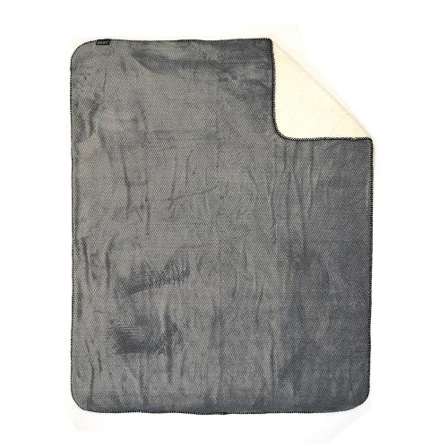 ZEST Fleeceplaid Vacht Spikkel Grijs r16.714