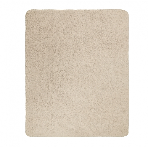 ZEST Fleeceplaid 125*150 cm lammy Taupe R15.703