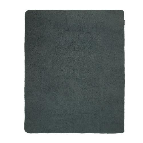 ZEST Fleeceplaid 125*150 cm lammy Donkergrijs