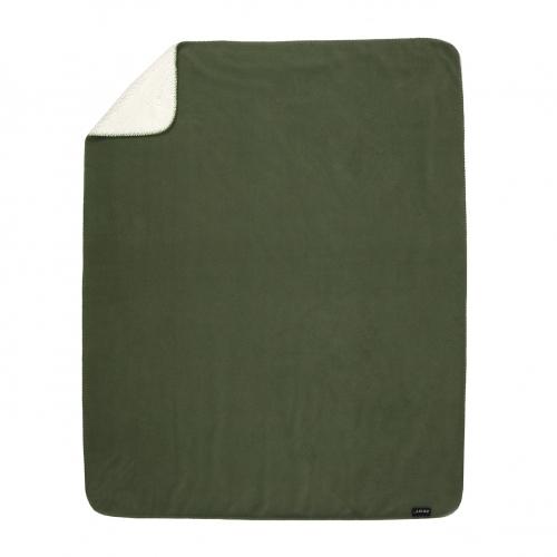 Zest Fleeceplaid 125*150 Vacht Groen R17.706