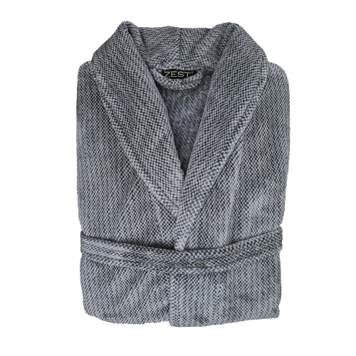 ZEST Badjas fleece L/XL spikkel